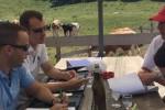 Séance de travail au Vermeilley et test qualité de la fondue